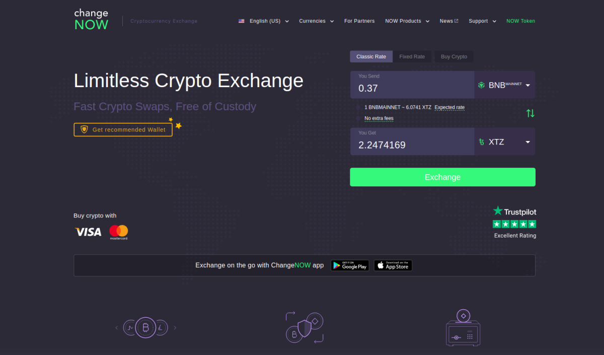 ChangeNOW front page