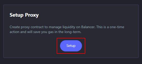 setup-proxy