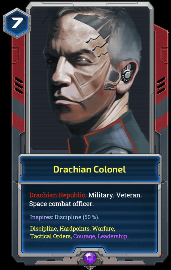 Drachian Colonel