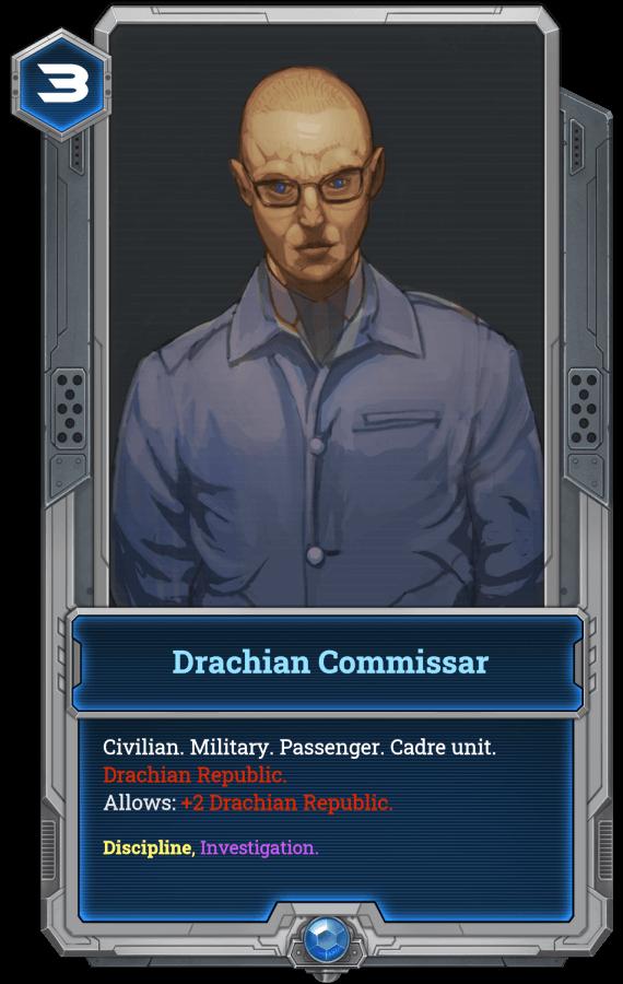 Drachian Commissar