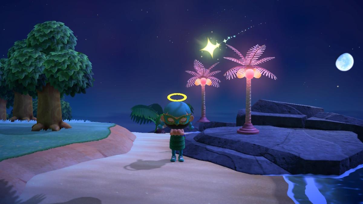 Mining Star Fragments in Animal Crossing. Someday...