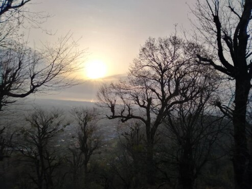 A Friend Asked Me Why You Love Hiking at Dawn?