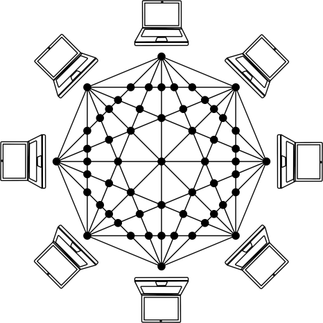 A network