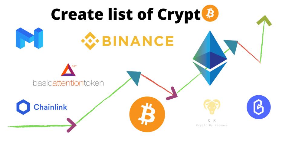 bitcoin ethereum binance matic polkadot band chainlink bat