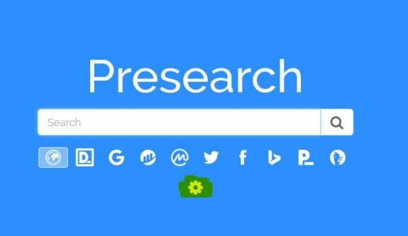 setup Ecosia together Presearch - step one