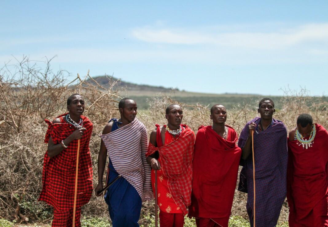 Masai Mara dance