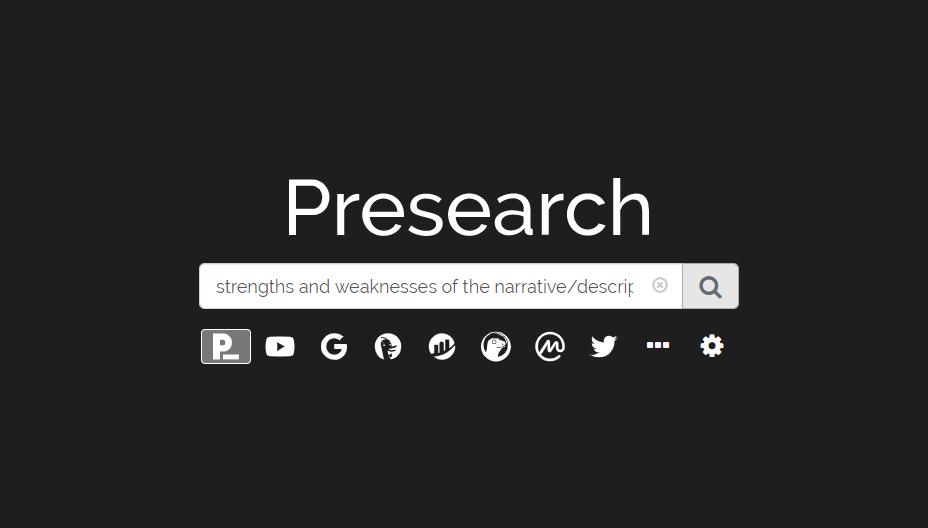 Presearch Search Engine (PRE): A Google Alternative?
