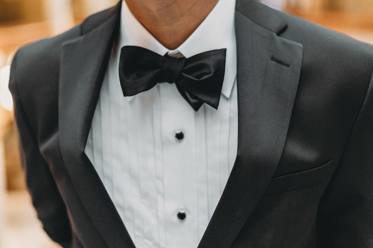 man in bowtie