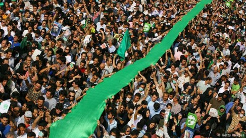 Green movement of Iran, The Story of Resistance and Blood