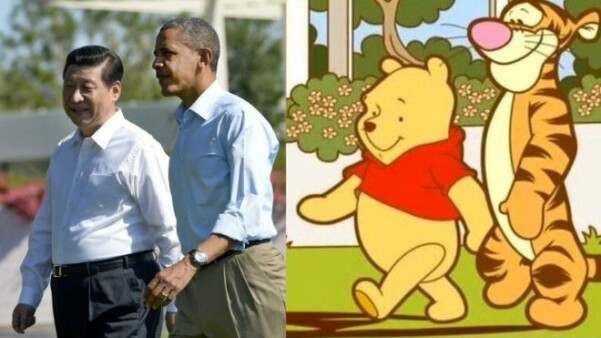 This picture got Pooh banned in China