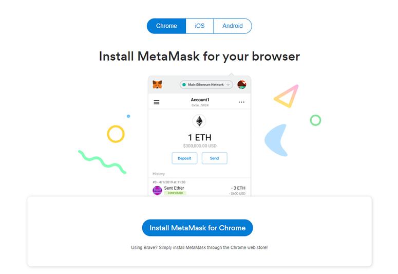 Install MetaMask OS/B