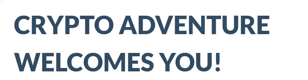 Crypto Adventure