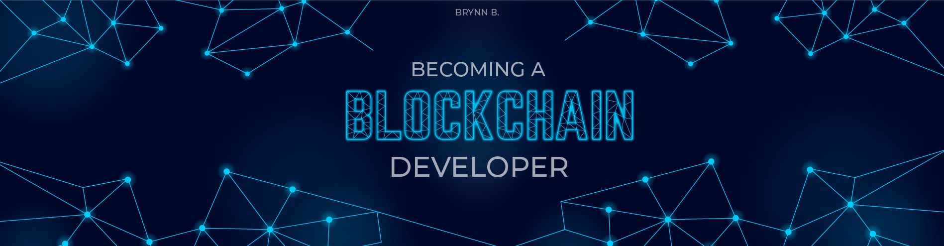 Becoming a Blockchain Developer