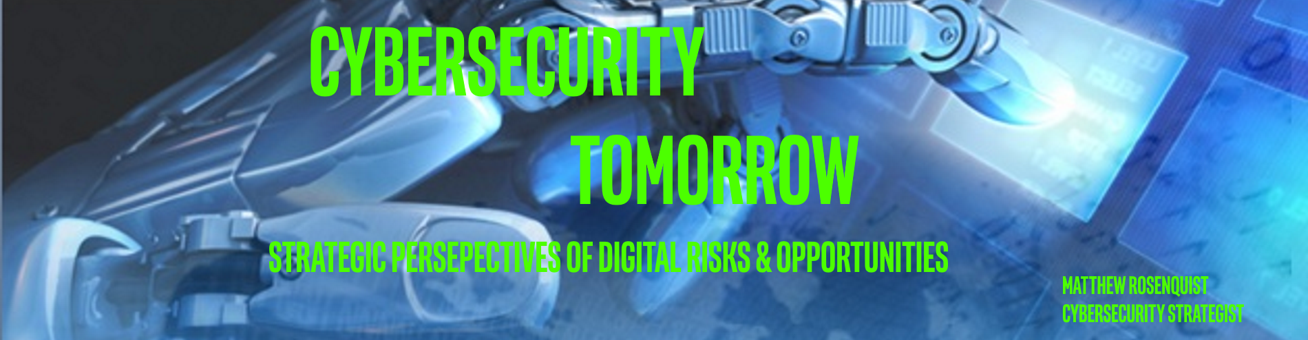 Cybersecurity Tomorrow