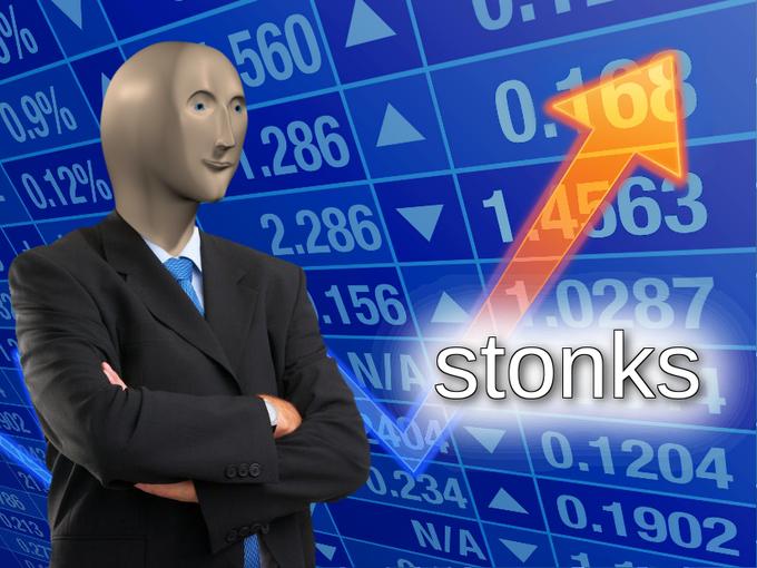 image of stonks