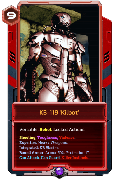 KB 119-Kilbot