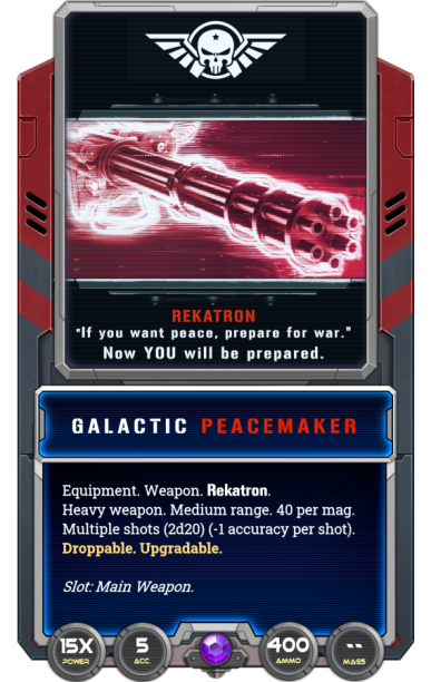 Galactic Peacemaker