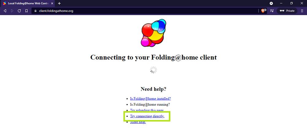 Foldingathome - webclient - udinxyz