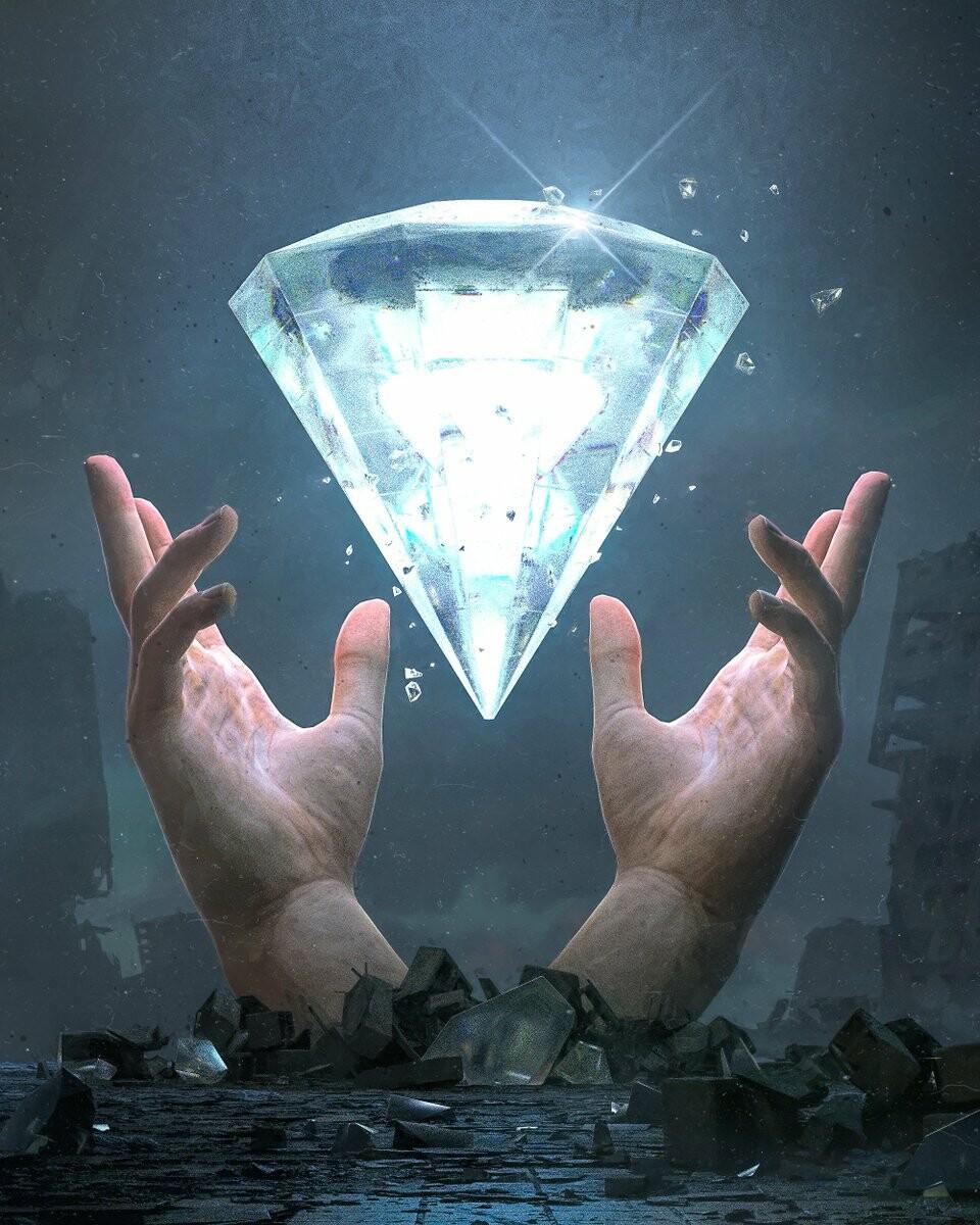 Beeple Diamond Hands