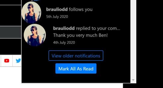 publish0x notification