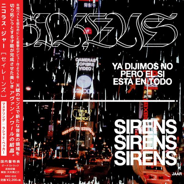 Nicolas Jaar - Sirens, album art.