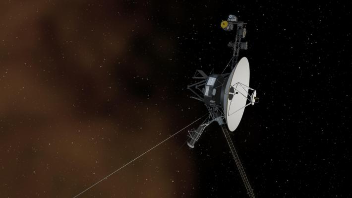 Voyager Illustration NASA Image
