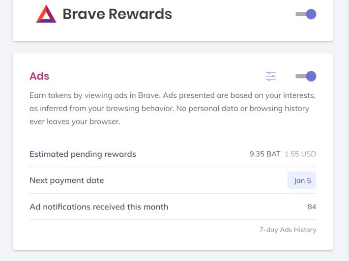 BAT Brave Browser
