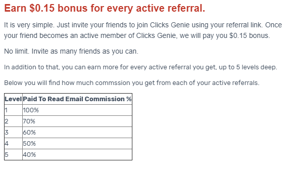 Adding clicks genie to the strategy and getting paid to