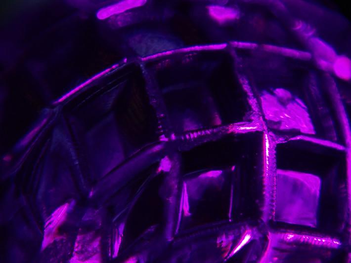 xmas light macro photo