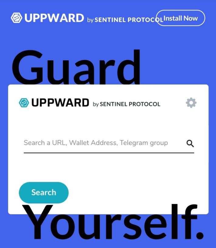 Sentinel Protocol Uppward Search Database