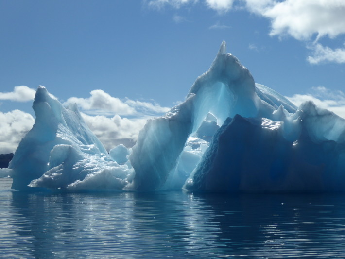 Iceberg in the sun