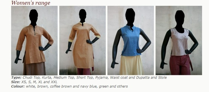 Charaka range of eco sustainable dresses for women.