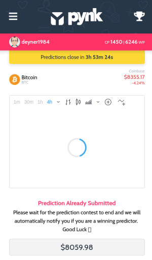 Pynk io - Beta released, predict and earn crypto!