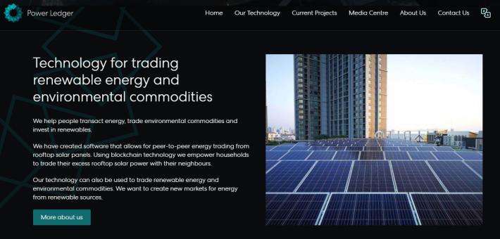 renewable solar energy technology through blockchain