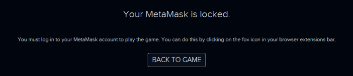 Well I don't even have MetaMask