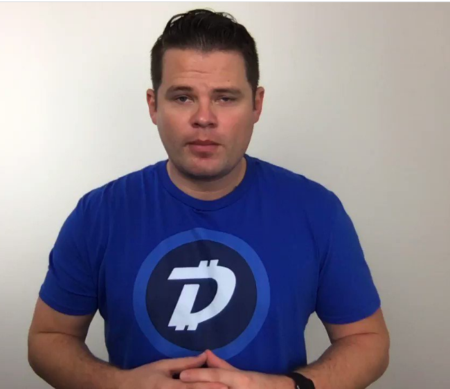 Jared Tate - Digibyte founder