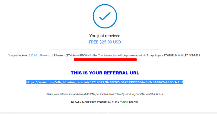 Telegram BTC Faucet v6 bot And EthBitcoina scam or legit?