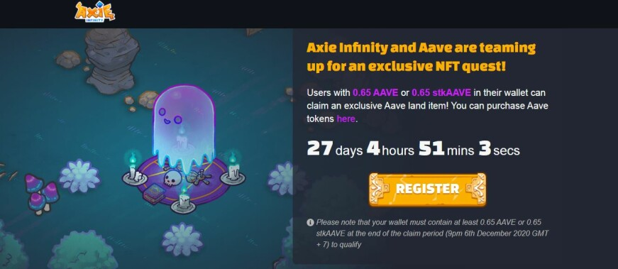 axie and aave