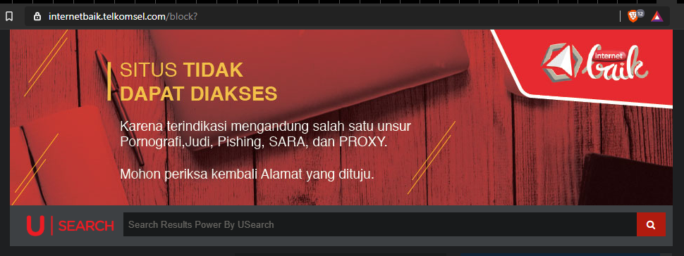 image of Indonesia ISP's blocking investing.com
