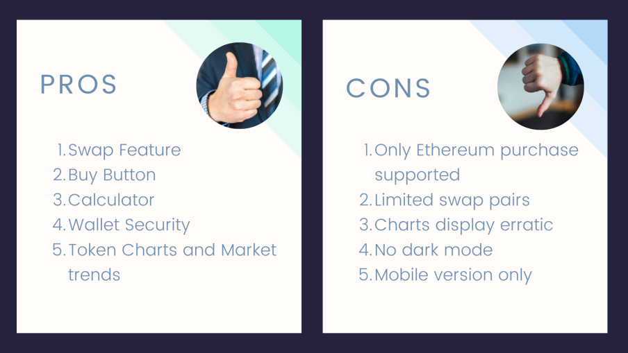 SafeMoon Wallet Pros and Cons