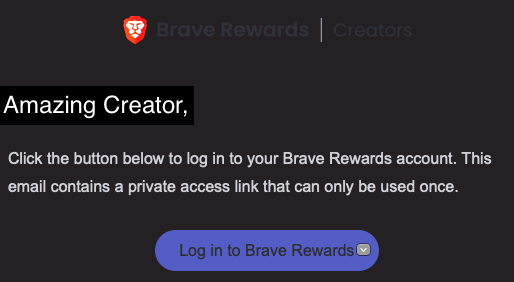 The Publisher in Your is Trying to Unleash.  Brave Browser May be the Key!