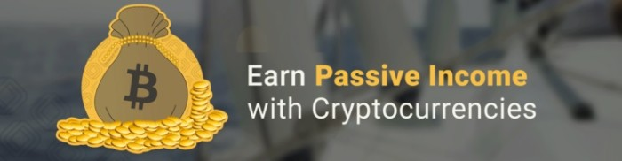 earn passive income cryptocurrency