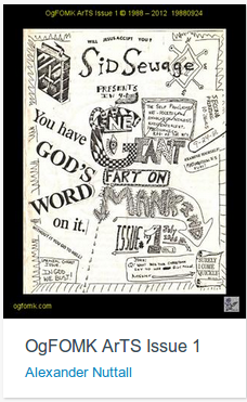 OgFOMK ArTS Issue 1, 1988