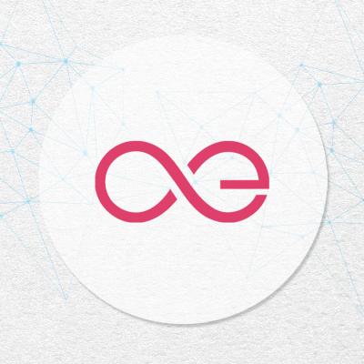 Aeternity AE logo