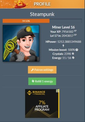 CRYPTO MINING GAME is a new kind of Bitcoin, Litecoin and