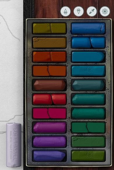 select a palette