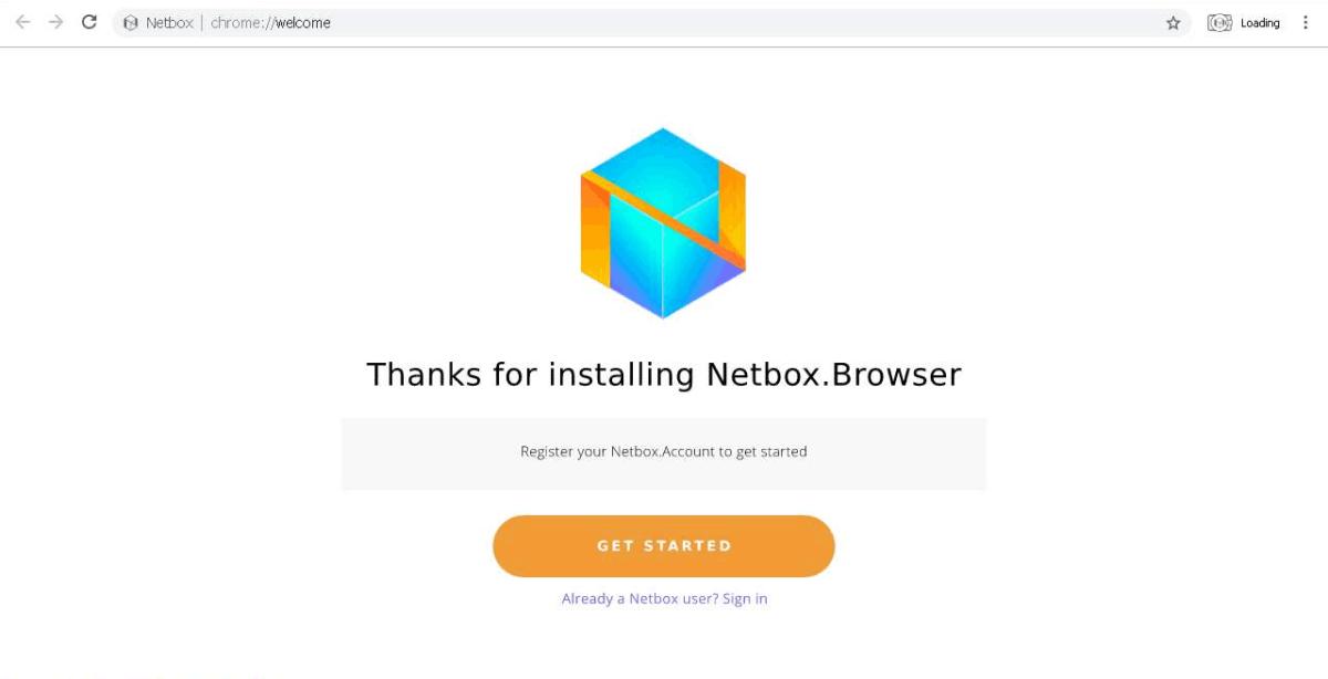Image of Netbox Browser screencap