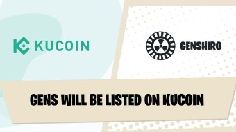 GENS Will Be Listed On Kucoin!