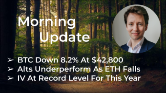Morning‌‌ ‌‌Update—May 18th—Macro and Crypto Markets