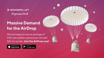 WAVES ENNO WALLET (AirDrop + Early Bird)